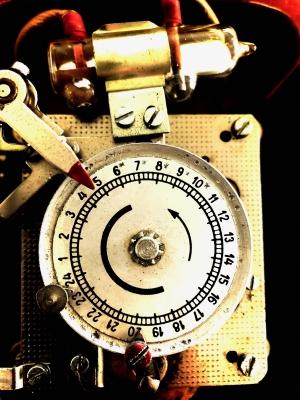ampolla de mercurio de un reloj interruptor