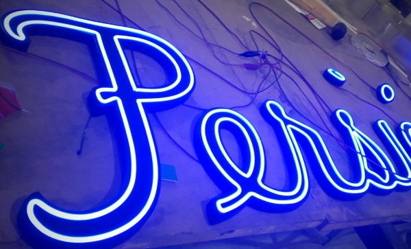 Rótulo de neón LED