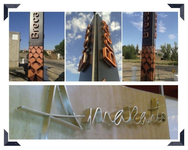 Rótulos corpóreos Zaragoza